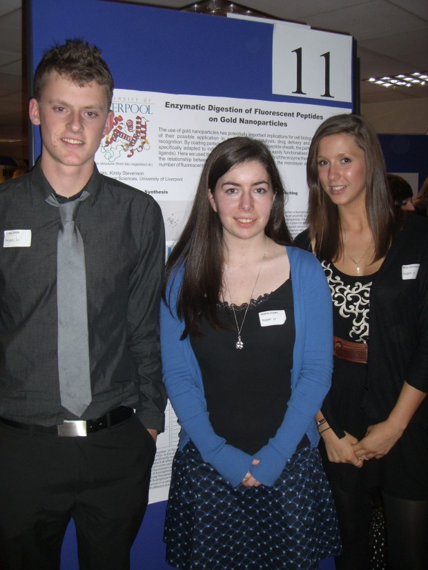 Craig, Sophie and Kirsty